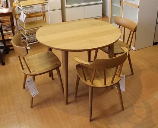 テーブルSL330N チェアSL221N